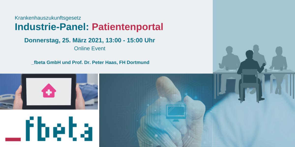 Industrie-Panel: Patientenportal