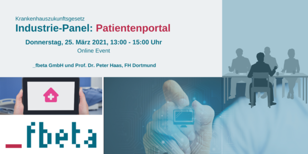 Industrie-Panel: Patientenportal