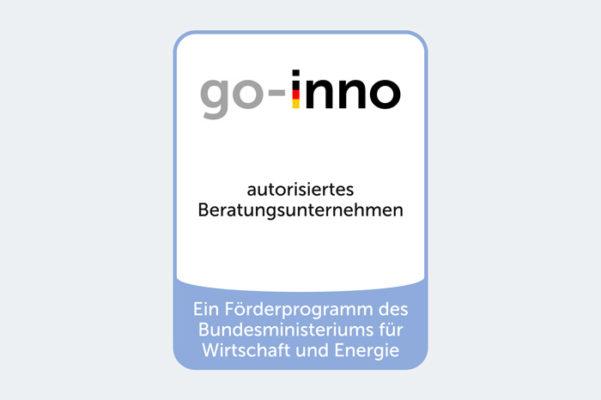 Plakette BU go-inno2021
