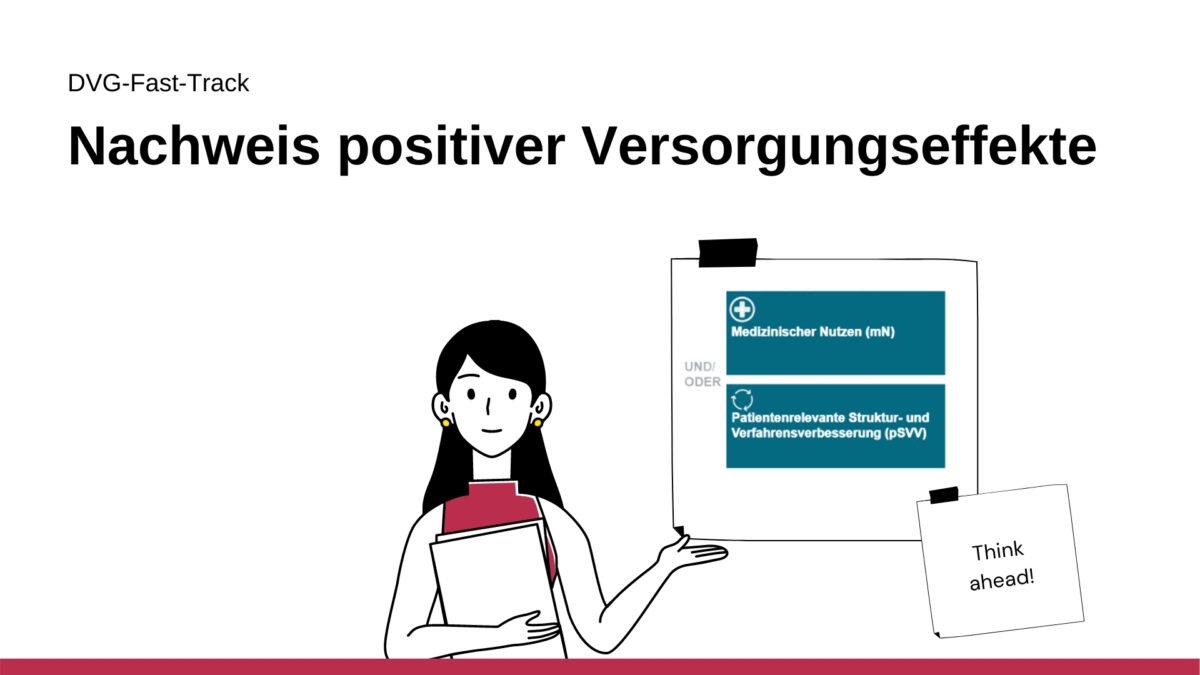 Artikelserie DVG-Fast-Track: Nachweis positiver Versorgungseffekte